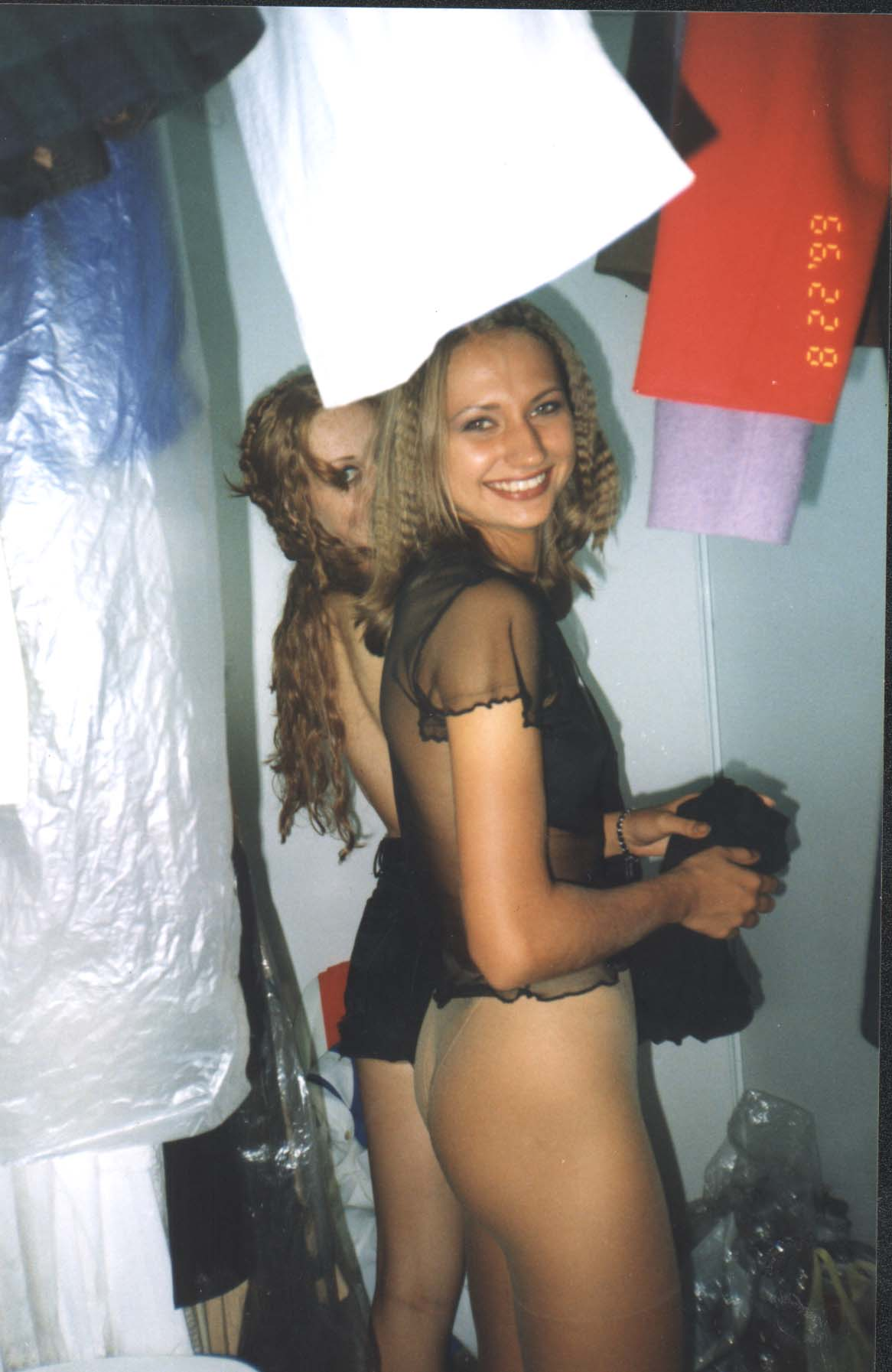 Русские девушки в раздевалке 8 фотография